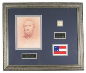 Civil War Confederate General Stonewall Jackson Fabric