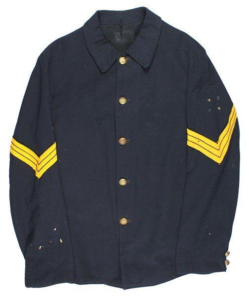 U.S. Indian Wars blue sack tunic