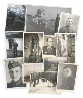 Lot Of 12 Photos German Wwii Army Luft