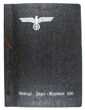 German Wwii Mountain Troops Photo Album