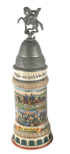 Imperial German Regimental Stein