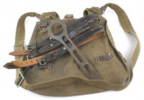 German Wwii Lot Army Bread Bag Straps Etc