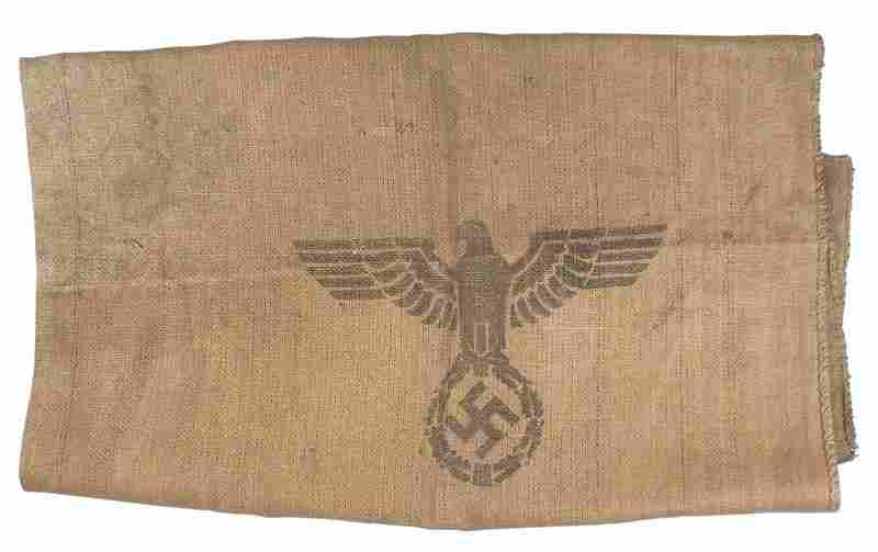 German WWII military supply bag