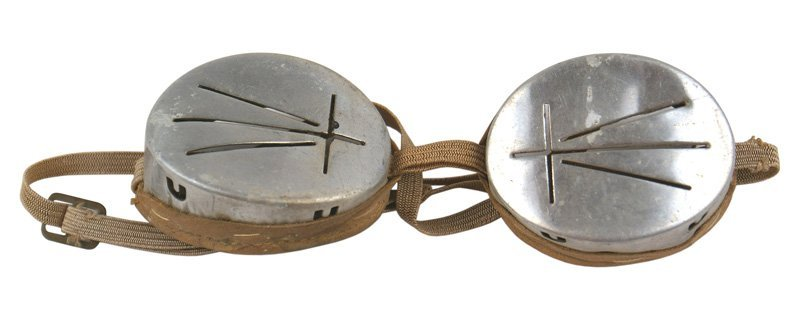 German WWII Mountain Troops snow goggles