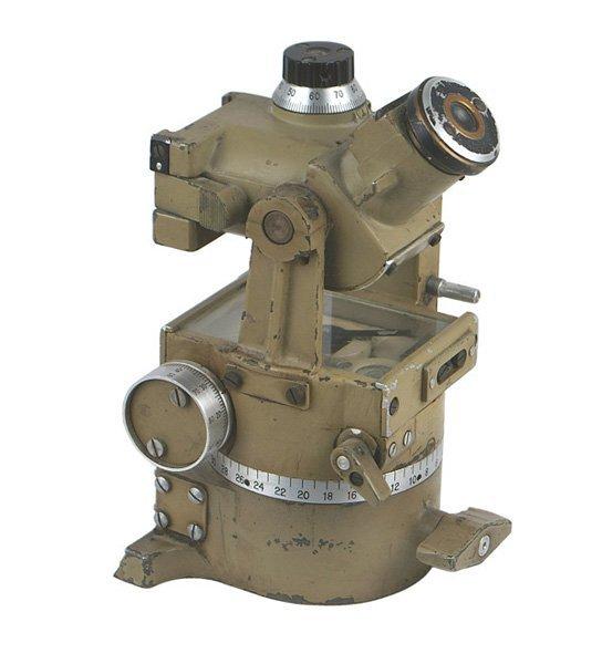 German WWII Afrika Korps mortar sight