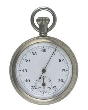 German Wwii Navy Pocket Stop Watch