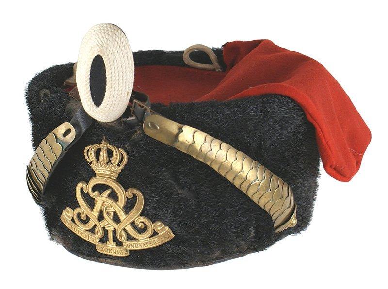 Imperial German 7th Hussar Regiment Pelzmutze