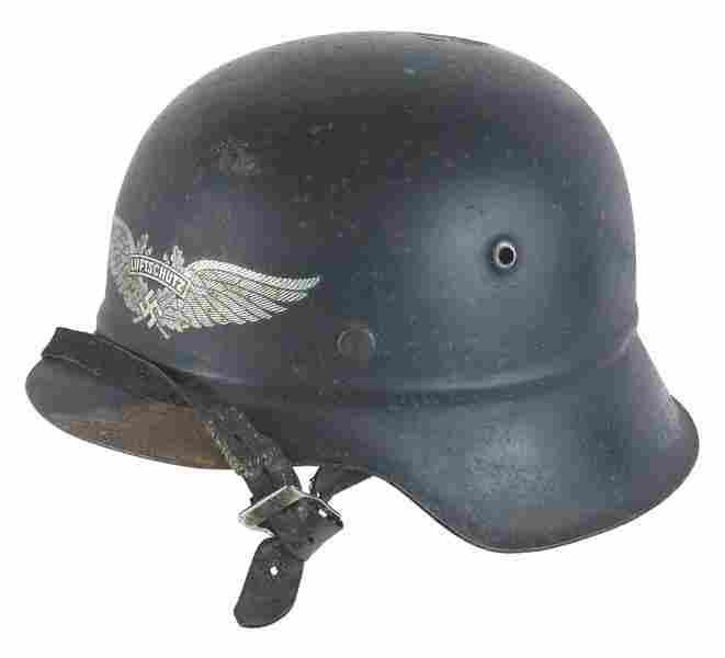 German WWII Air Defense M1942 helmet