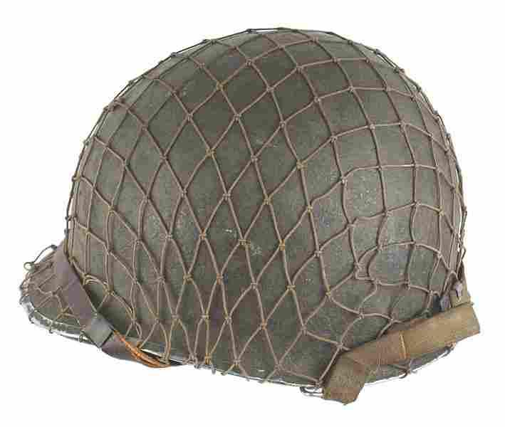 U.S. WWII swivel bale helmet