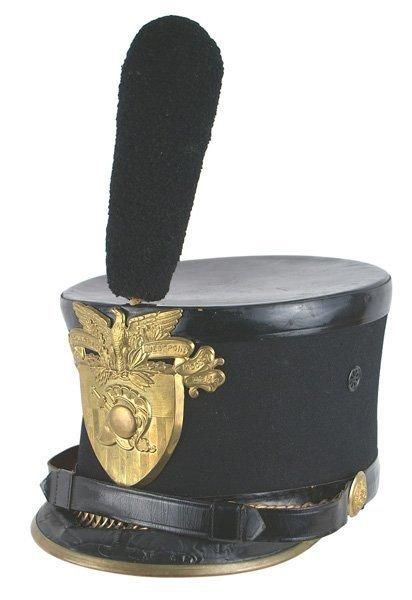 U.S. West Point Cadet shako helmet