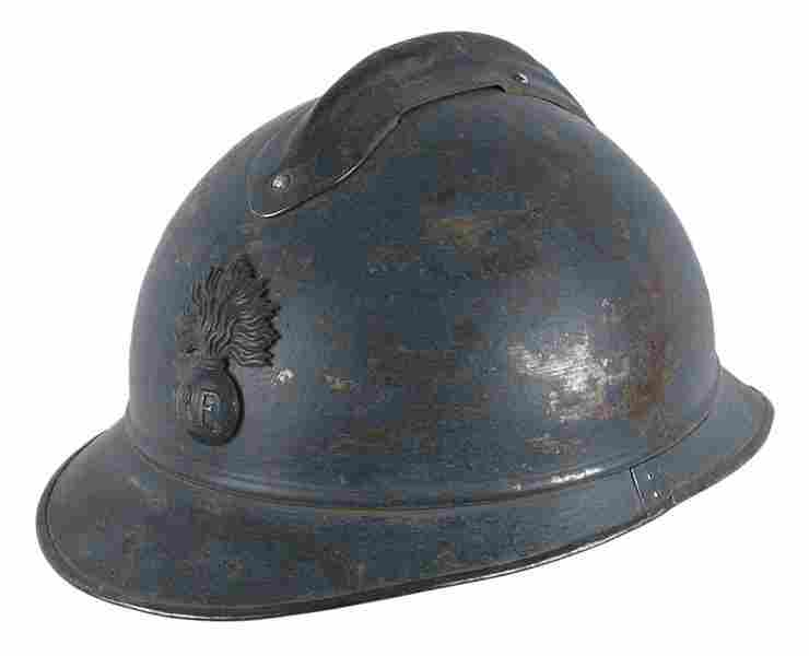 French WWI poilu helmet
