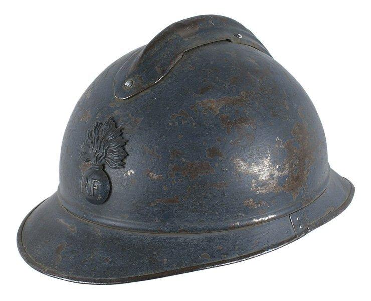 French WWI poilu helmet
