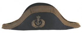 Imperial Austrian Naval Officer Fore Aft Cap