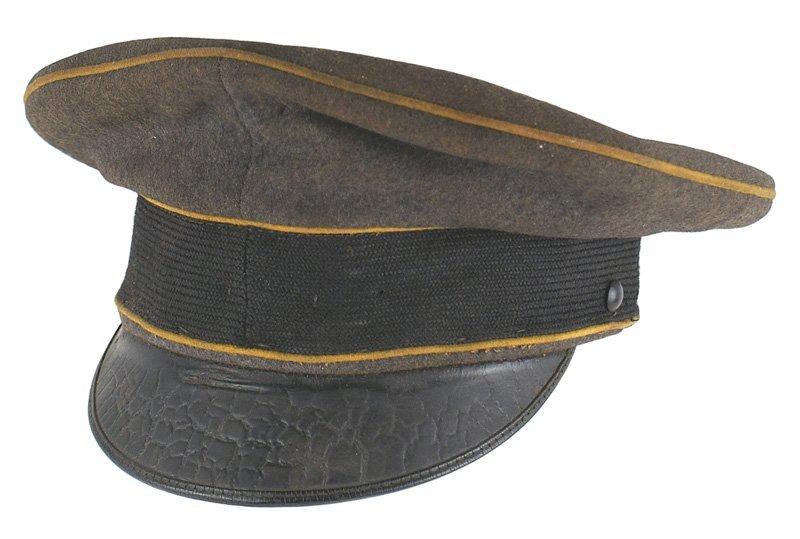 German WWII Luftwaffe Flight EM peaked cap