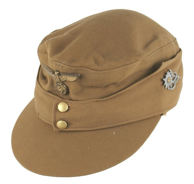 German WWII NSDAP M43 type cap
