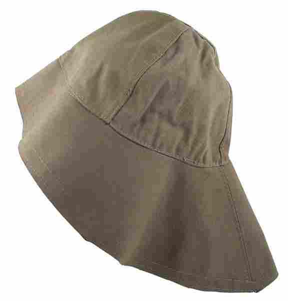 German WWII Navy Southwestern foul weather hat