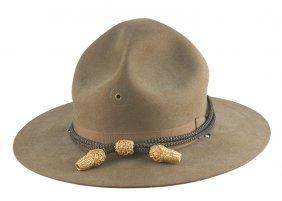 U.s. Wwi Field Officer Campaign Hat