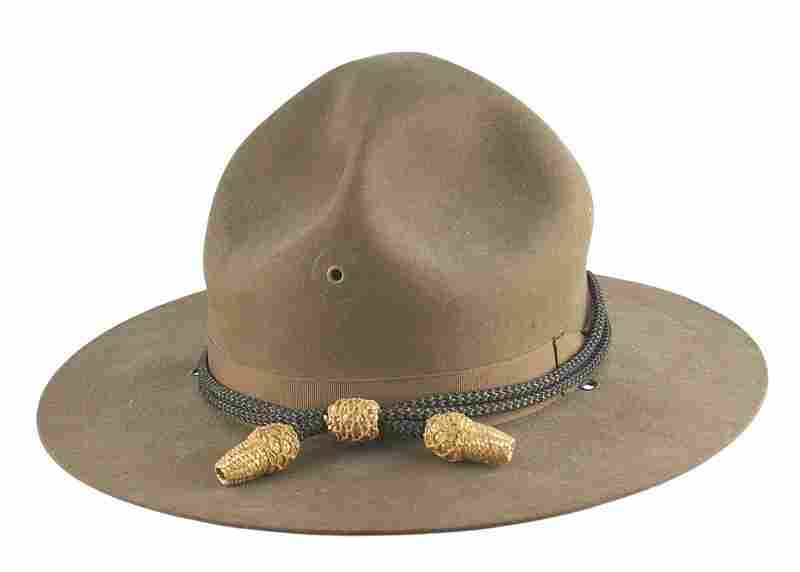 U.S. WWI Field Officer Campaign Hat