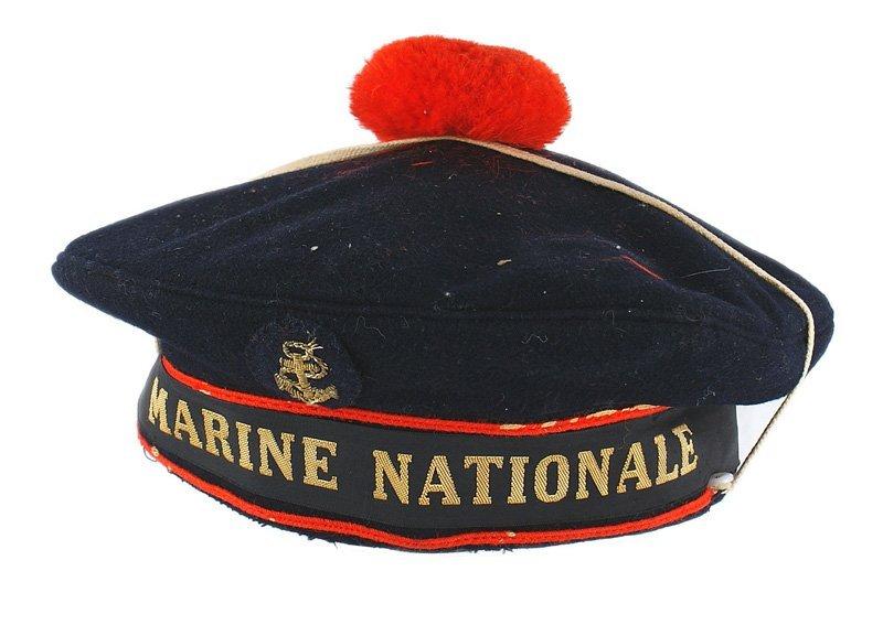 French WWII Period Navy Seaman cap