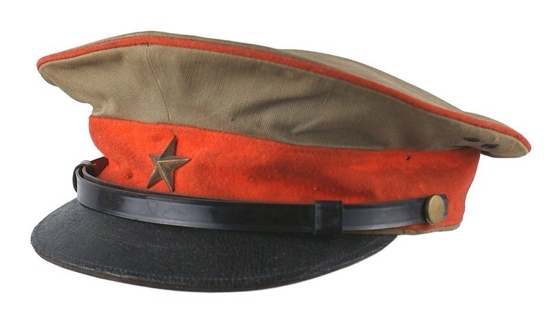 Japanese WWII Army officer peaked cap