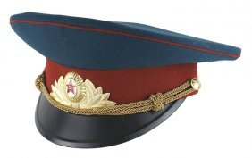Soviet Army General Dress Peaked Cap