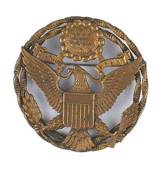 U.S. WWII era eagle badge military hospital