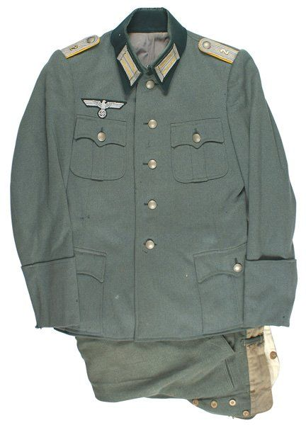 German WWII 2nd Cavalry Regiment tunic