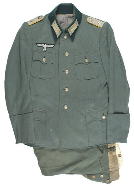 German WWII 2nd Cavalry Regiment tunic
