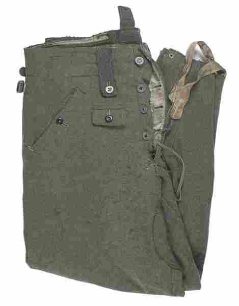 German WWII WWII ski trousers