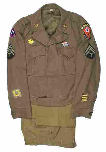 U.S. WWII 3rd Army Engineer Ike jacket