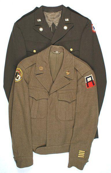 Lot of 2 U.S. WWII tunics Transport etc