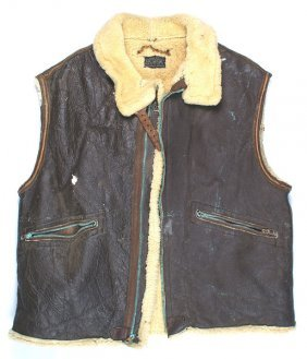 U.s. Wwii Mechanic Type D-1 Leather Jacket