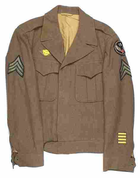 Lot of 2 U.S. WWII Air Force Ike jackets