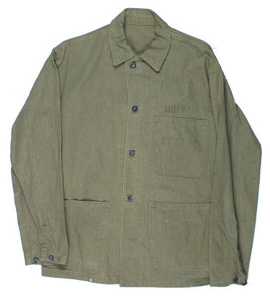 U.S. WWII Navy HBT tunic