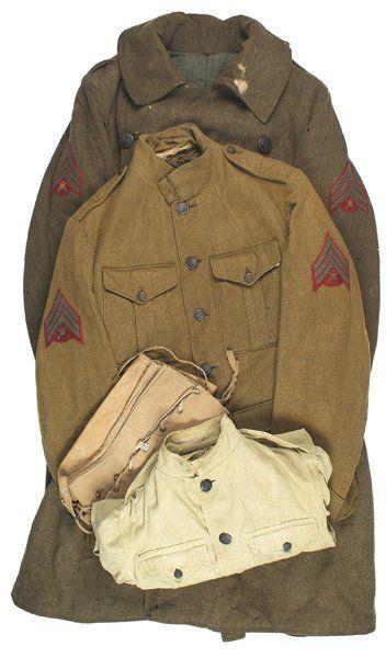 U.S. uniforms 1st Aero Squadron lot