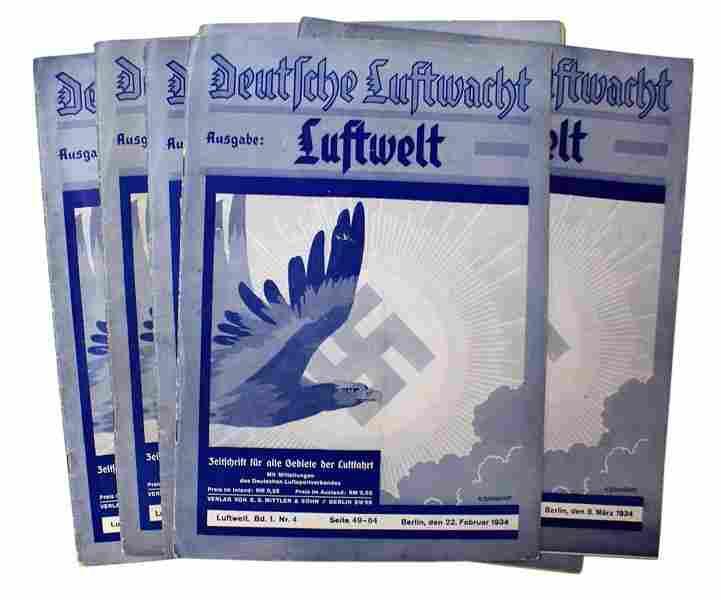 German book DEUTSCHE LUFTWACHT
