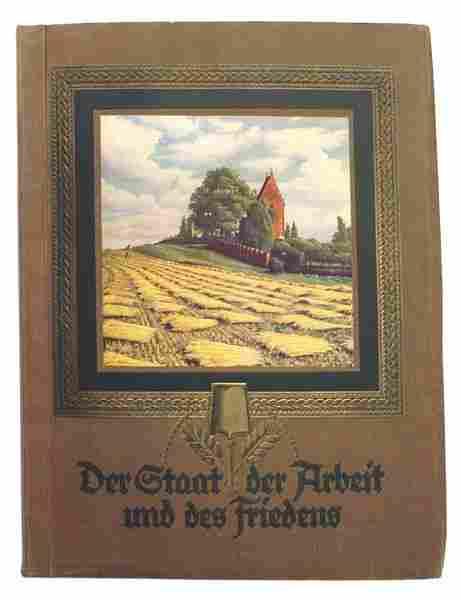 German book Der Staat der Arbeit