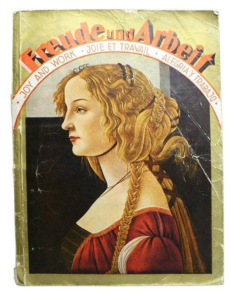 German book Freude und Arbeit