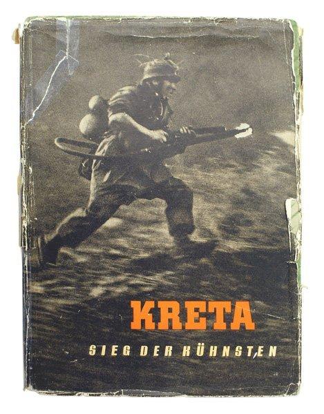 German WWII book KRETA 1942