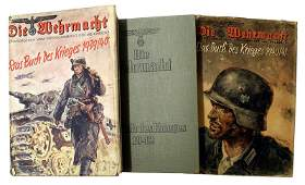 Lot of 3 Die Wehrmacht German book