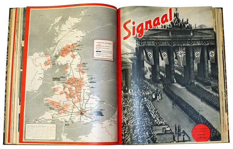 German book Signaal bound volume