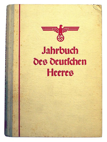 German book Jahrbuch 1942 Army yearbook