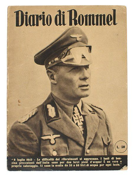 Book Diario di Rommel 1942 Italian published