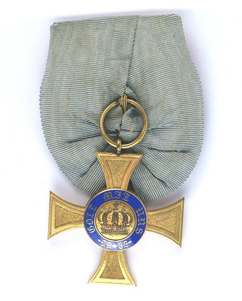 Prussian Crown Order 4th Class medal