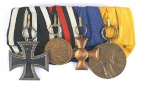 Prussian Medal Bar Iron Cross War Medal