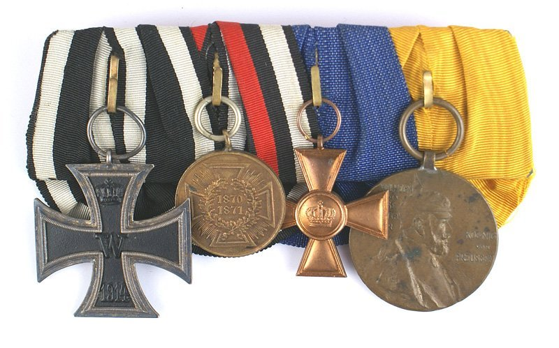 Prussian Medal Bar Iron Cross War Medal