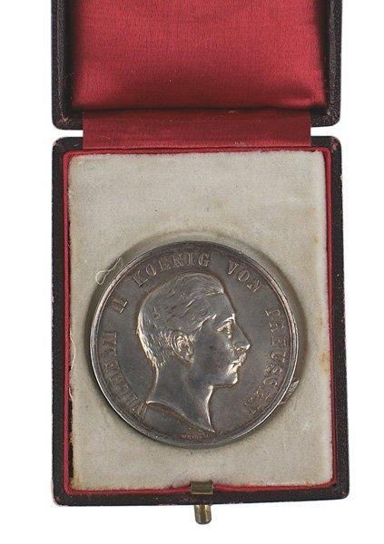 Imperial German shooting table medal