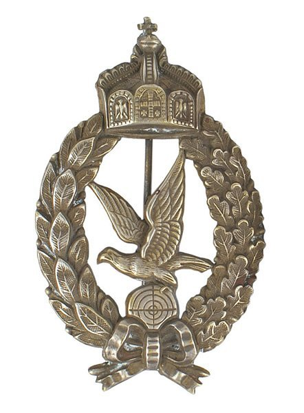 Prussian WWI Aerial Gunner Badge