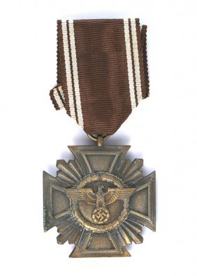 German Wwii Nsdap Long Service Medal