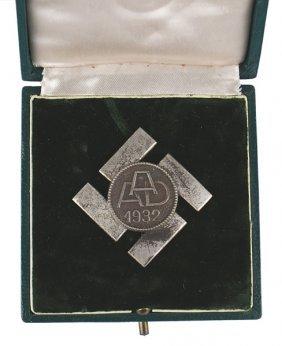 German Wwii Anhalt Labor Badge